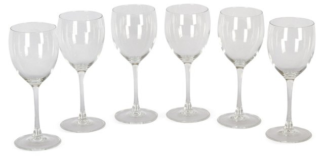 Wine Glasses, Set of 6