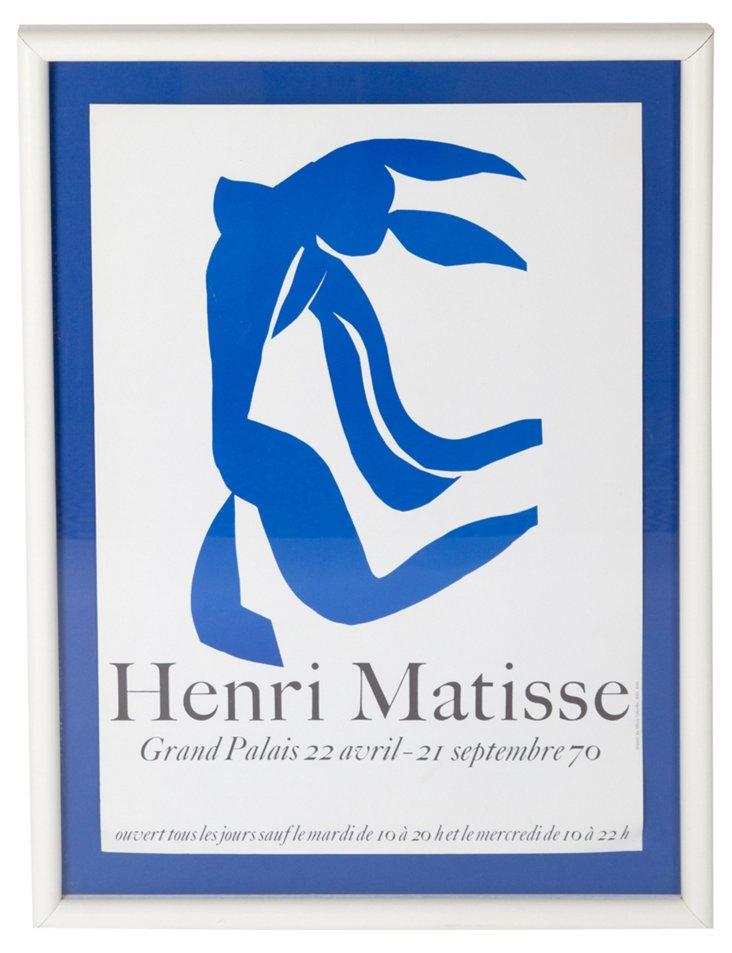 Henri Matisse Poster, Framed