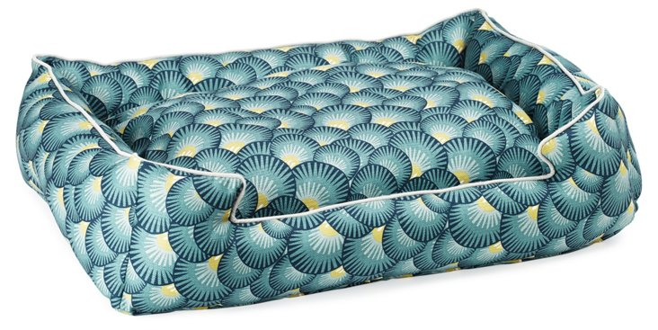 Petal Teal Lounge Bed