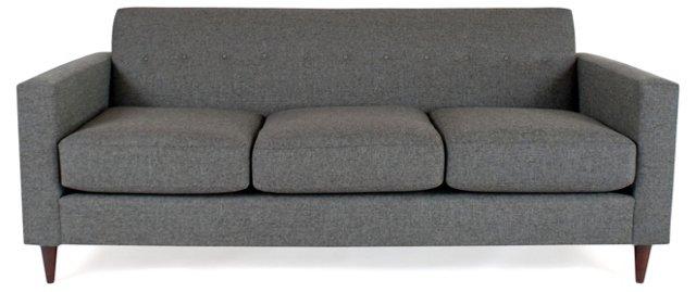 "Jackson 84"" Sofa, Dark Gray"
