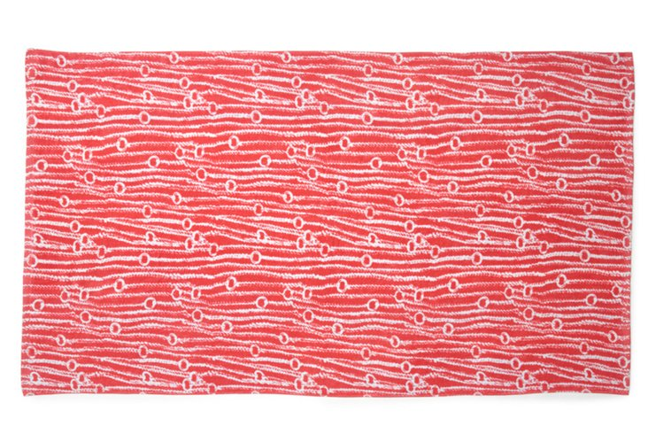 Beach Towel, Red