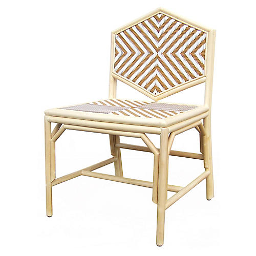 Lucia Accent Chair, Natural