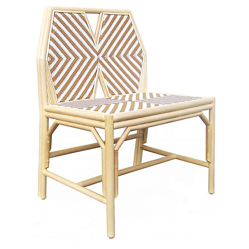 Lucia Mod Accent Chair, Natural