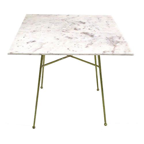 Jani Bistro Table, White