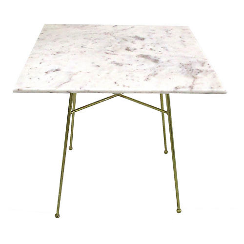 Jani Bistro Table, White