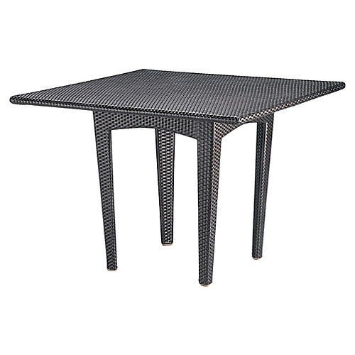 Panama Square Dining Table, Bronze