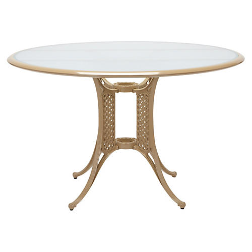 La Palma Dining Table, Toffee