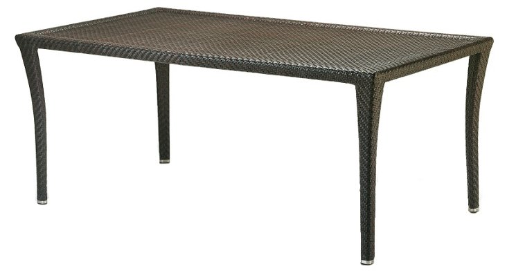 "70""  Bonneville Rect Dining Table, Brazil"