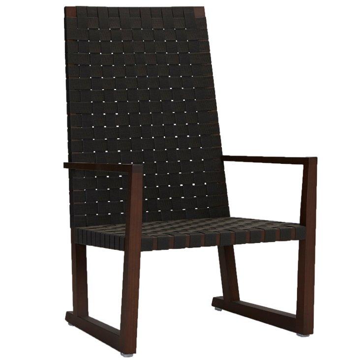 Serena Lounge Armchair, Graphite