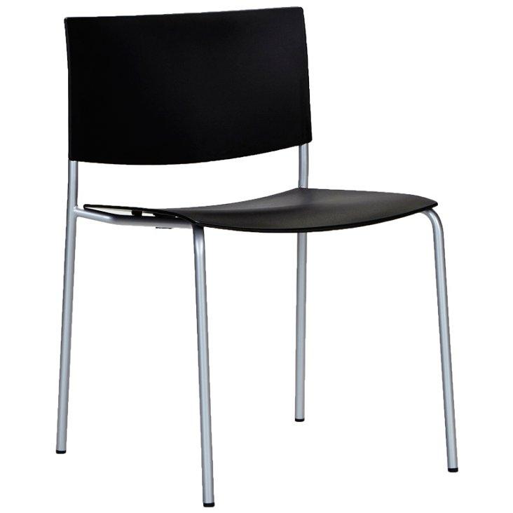 Sitt Side Chair, Black
