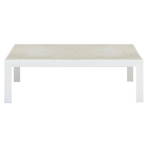 Mistral Dining Table, White/Sand