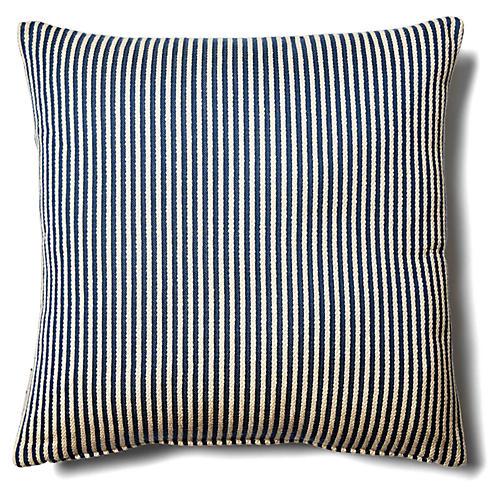 Sandunes 18x18 Outdoor Pillow, Blue