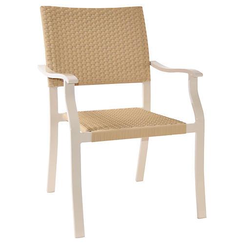 Cello Armchair, Natural