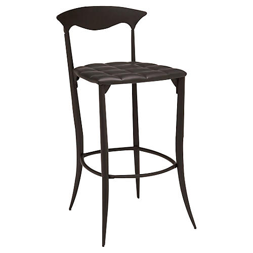 Charme Counter Stool, Black