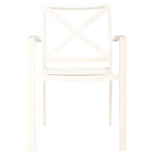 Kozi Armchair, White