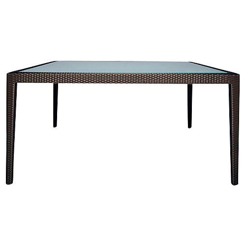 Quinta Rectangular Dining Table, Bronze