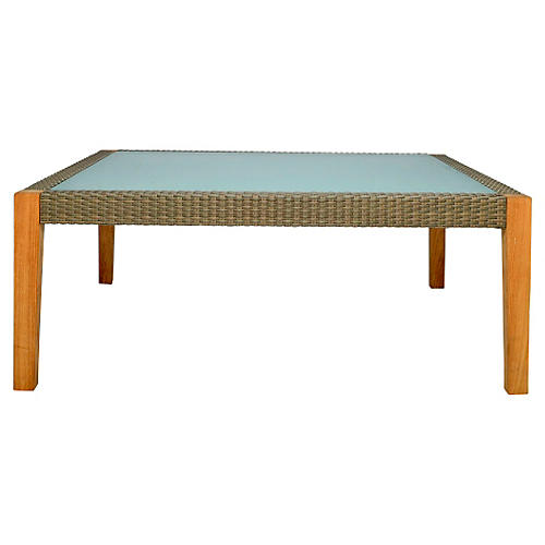 Quinta Coffee Table, Natural/Khaki