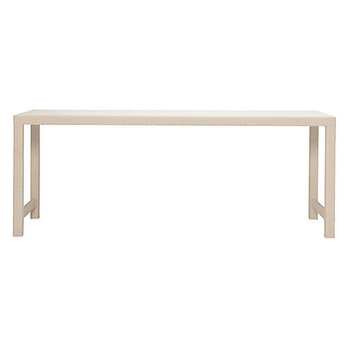 Narrows Dining Table, Limestone
