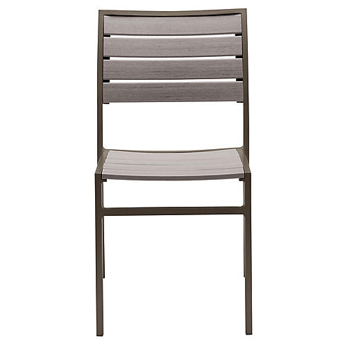 Koko Side Chair, Mercury/Gray