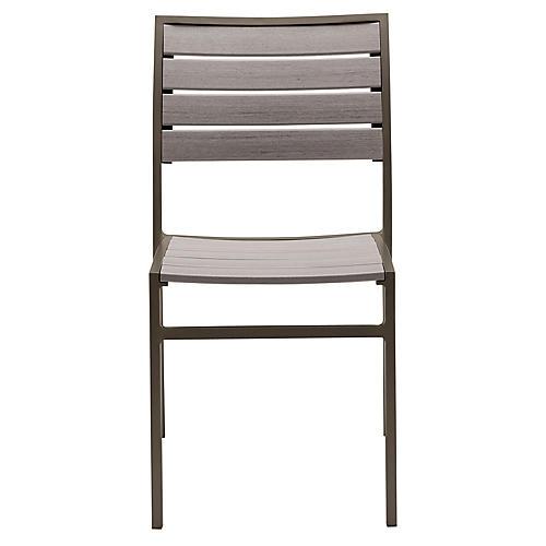 Koko Side Chair, Mercury/Gray