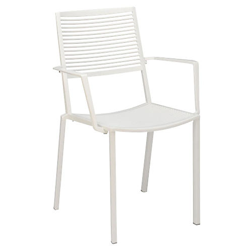 Easy Armchair, White