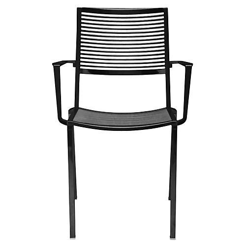 Easy Armchair, Black