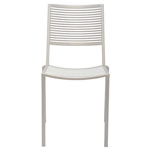 Easy Side Chair, Silver