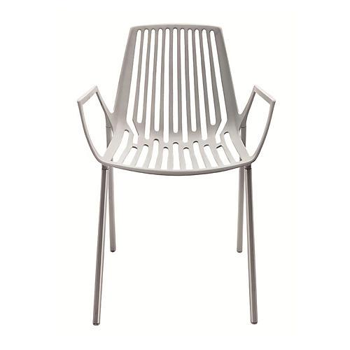 Rion Armchair, Silver