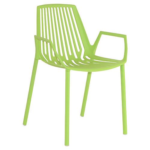 Rion Armchair, Green