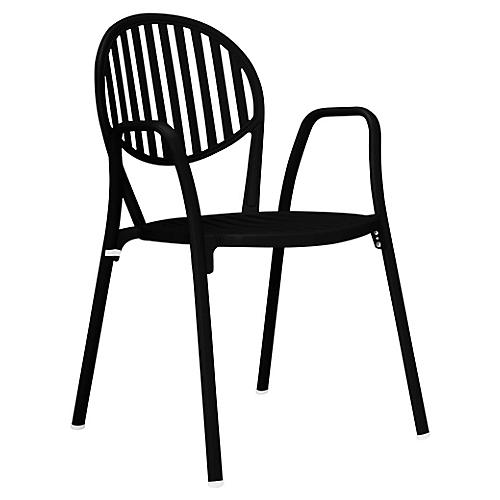 Olympia Armchair, Black