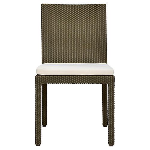 Boxwood Side Chair, Whitewash