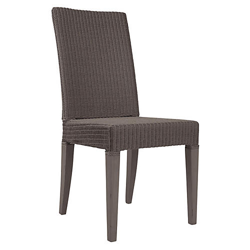 Edward Side Chair, Greige