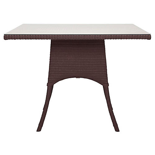 Nimes Square Dining Table, Wenge