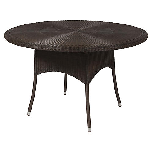 Nimes Dining Table, Mocha