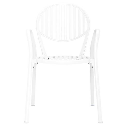 Olympia Armchair, White