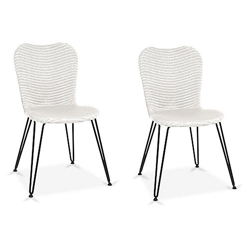 Christy Side Chair, White