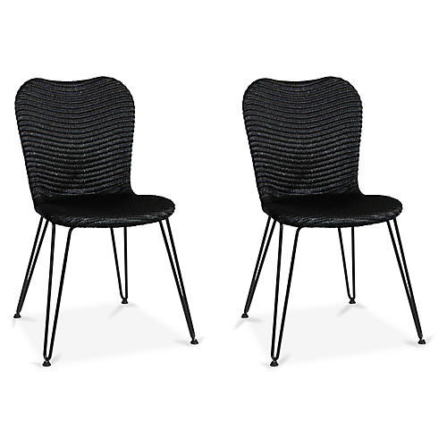 Christy Side Chair, Black