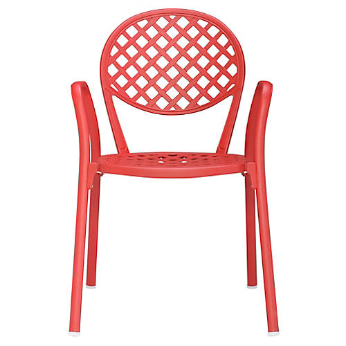 Europa Armchair, Red