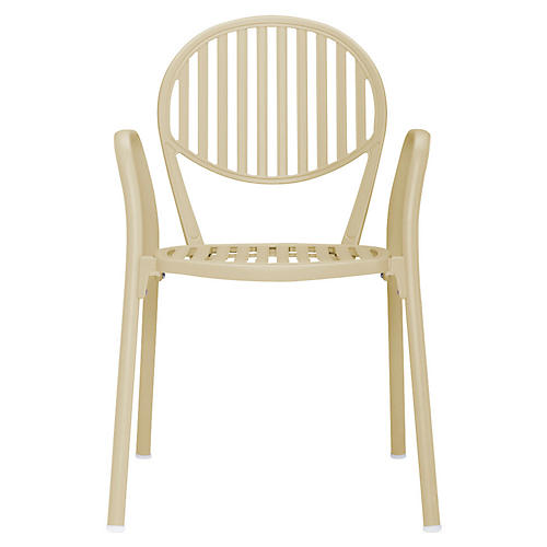 Olympia Armchair, Beige