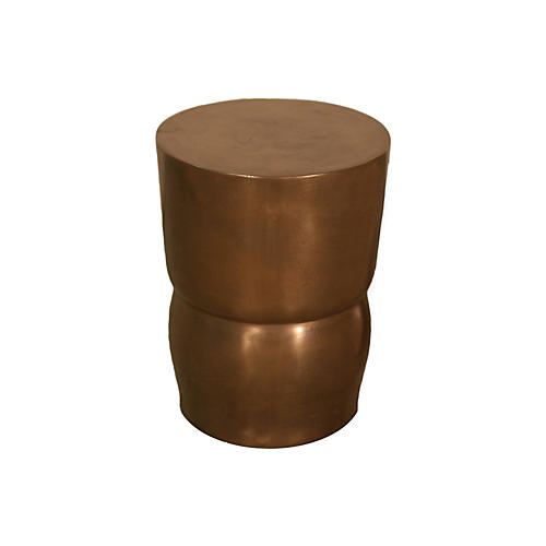 Moore-Inspired Stool, Bronze