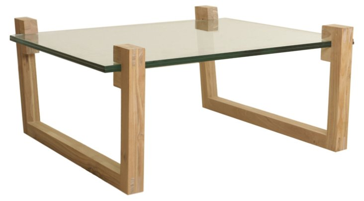 Clamp Coffee Table, Natural