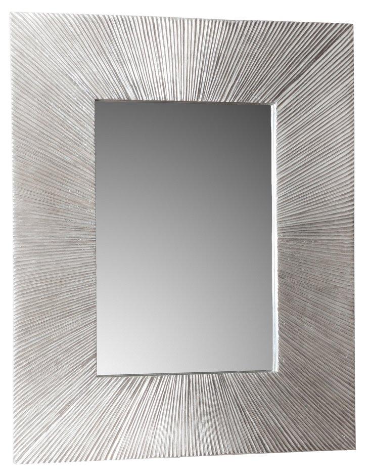 Shelly Mirror, Silver