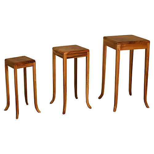 Mitchell Nesting Tables, Natural
