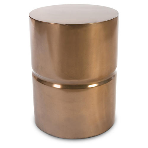 Stacked Stool, Bronze