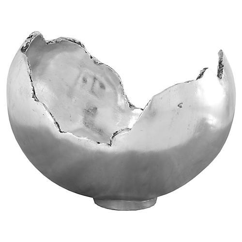 """17"""" Barton Bowl, Silver"""