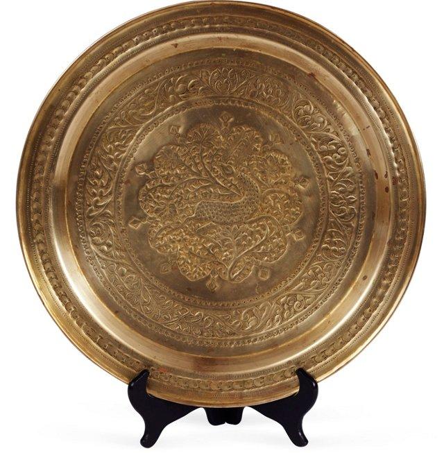 Persian Brass Tray