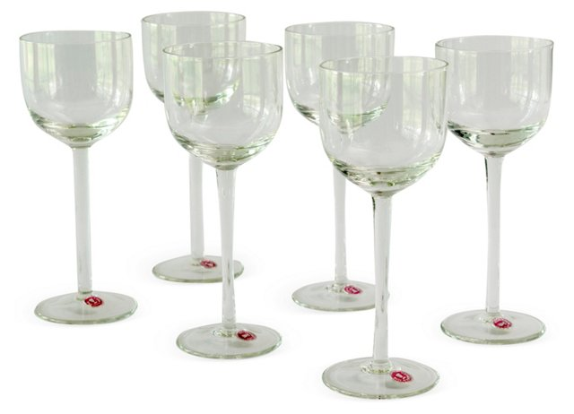 Dramatic Wine Glasses, Set of 6
