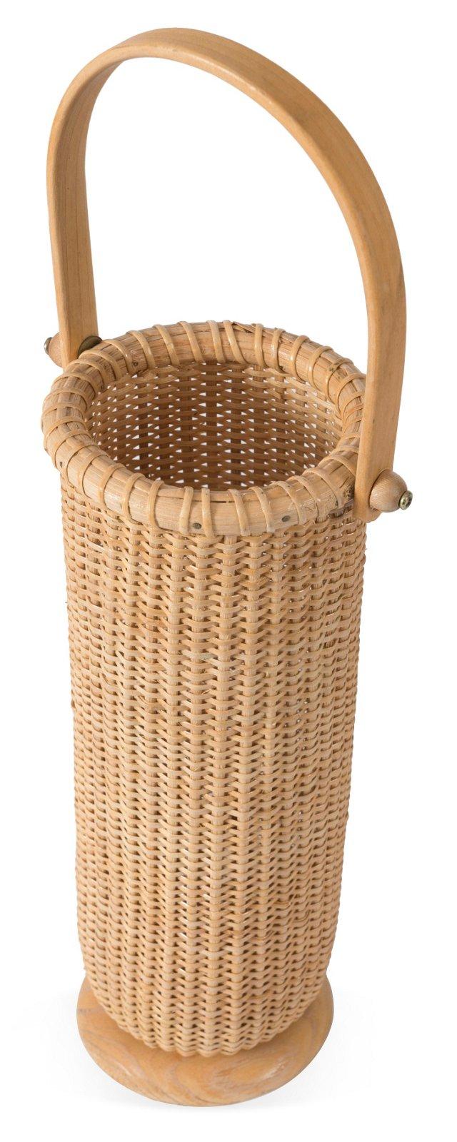 Nantucket-Style Wine Basket