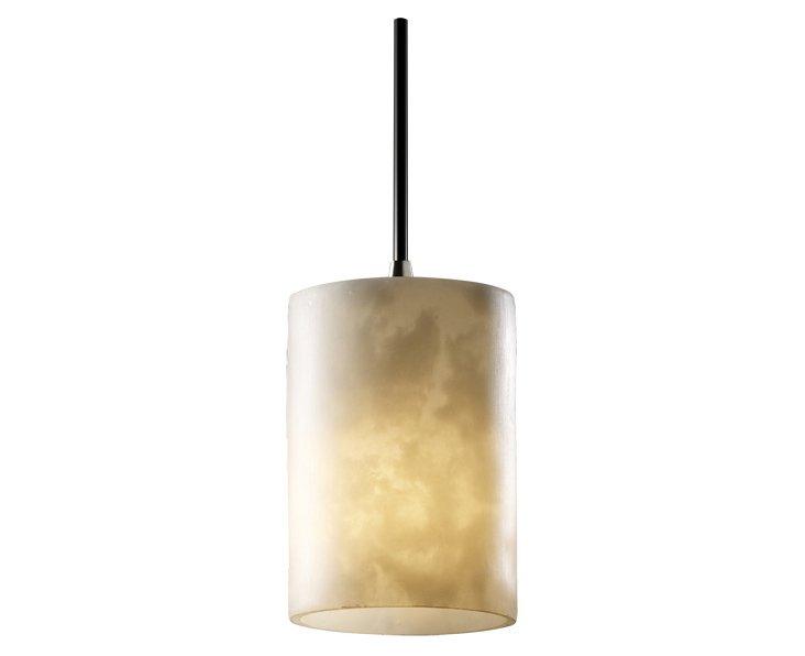 Milan Mini 1-Light Pendant, Nickel