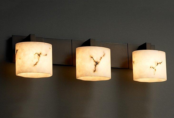 Vienne 3-Light Bath Bar, Bronze